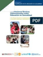 orientaciones para la educación sexual  UNESCO
