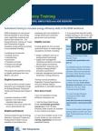 Green Skills Information Sheet 4a