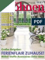 Zuhause Wohnen Juli No 07 2013