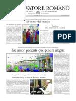L´OSSERVATORE ROMANO - 01 Noviembre 2013