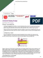 Jacketed Piping Design _ Pipingdesigners
