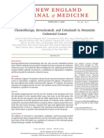 Chemotherapy, Bevacizumab, And Cetuximab in Metastatic Colorectal Cancer