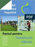 Pactul pentru Transilvania si Banat