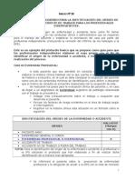 Anexo N° 28 Ejemplo identificación ORIGEN ENFERMEDAD PI