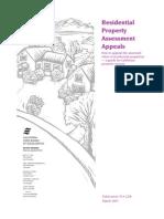 California Property Assessment Appeal Handbook