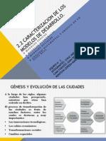 2.2 Caracterizacion de Los Modelos de Desarrollo