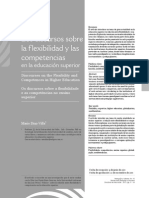 Los Discursos Sobre La Flexibilidad y Las Competencias