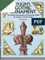 Arch-Grafika_PUGIN's GOTHIC ORNAMENT Talla Madera Chip Carving