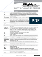 Glossary of Aviation Terms