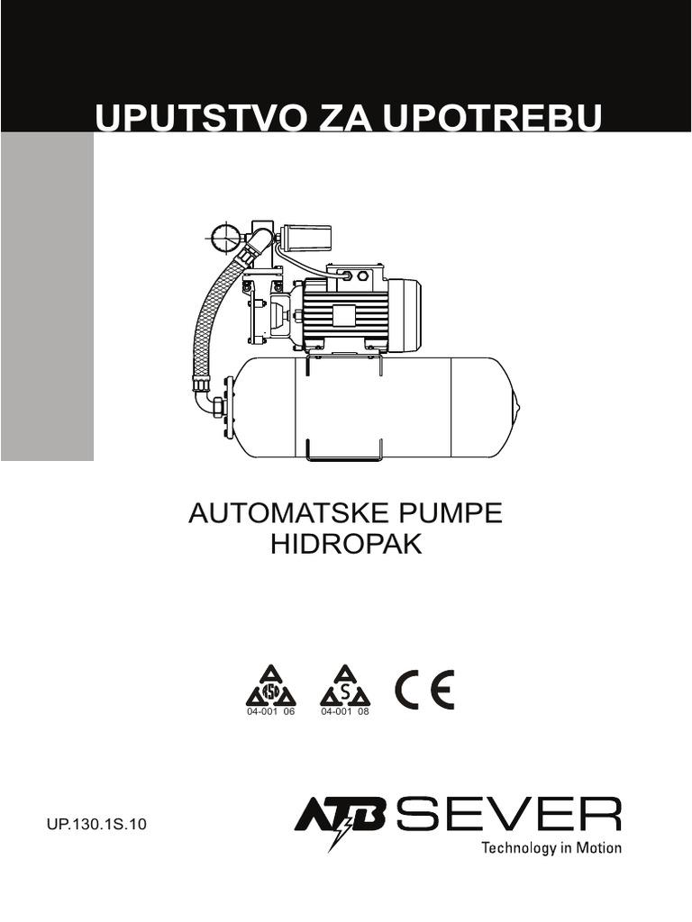 Automatska Pumpa Za Vodu Hidropak