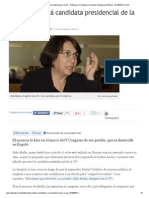 Aída Abella, candidata a la presidencia por la UP - Política en Colombia y el Mundo_ Noticias de Política - ELTIEMPO