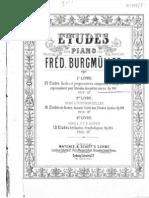 IMSLP253725-PMLP07983-FBurgmuller 25 Etudes Faciles Op.100 BNE