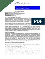 Danaher Corporation Ref31052