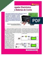 Cargador Electronico de Baterias