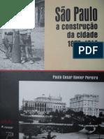 São Paulo a construção da cidade - PCXavier- parte 1