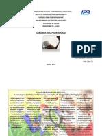 Informe Diagnóstico Pedagógico