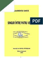 Laurenţiu Ghiţă- Singur între patru versuri