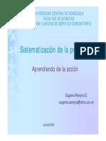 Sistematizacion de La Practica-Feb 2010