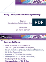 Introduction to Petroleum Engineering - Final- Oil and Gas Transportation
