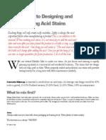 Acid Stains Manual