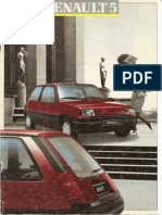Catálogo Renault Super 5