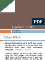 EVALUASI ELIKSIR