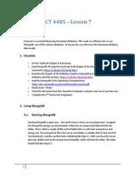 ICT Lesson 7 Notes