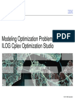 1 ILOG Modeling Examples