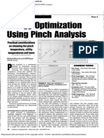 Energy Optimization Using Pinch Analysis