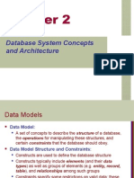 Database System Concepts and Architecture