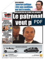 Le Soir D-Algerie Du 15-09-2011