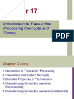 Introduction to Transaction Processing Concepts and Theory