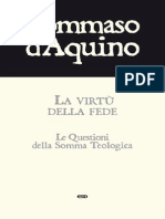 Tommaso La Virtu Della Fede