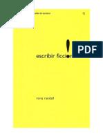 Randall Rona - Escribir Ficcion