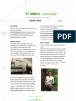 Narconon Australia -Get Off Drugs Naturally Newsletter - Issue 3