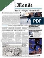 Le Monde Du Mercredi 7 Decembre 2011