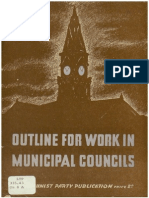 'Outline for Work in Municipal Councils' (194?) -- Communist Party of Australia