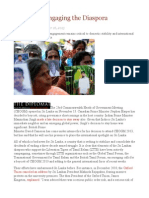Sri Lanka Engaging the Diaspora
