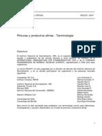 Nch331-Of97 Pintura y Productos Afines - Terminologia