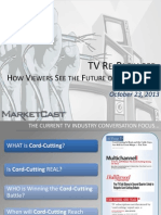 Marketcast Future of Television Study