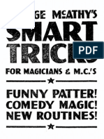 George McAthys Smart Tricks for Magicians PDF