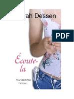 Sarah Dessen - Écoute-la