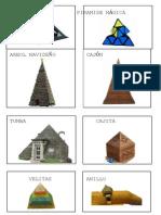 Figuras en Forma de Piramide