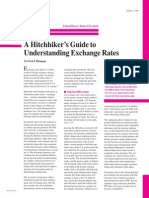 A Hitchhiker s Guide to Understanding Exchange Rates
