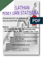 Leaflet Pelatihan