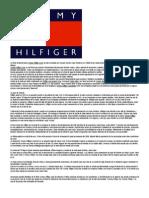 La Firma Norteamericana Tommy Hilfiger Corp