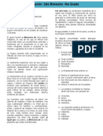 4to Grado - Bimestre 2 (2012-2013)