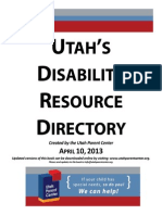 disability resource book