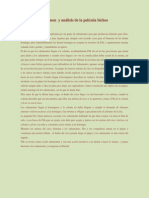 resumen  y anlisis de la pelcula bichos proyecto entre pares