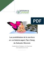 Las posibilidades de la escritura en Pao Cheng